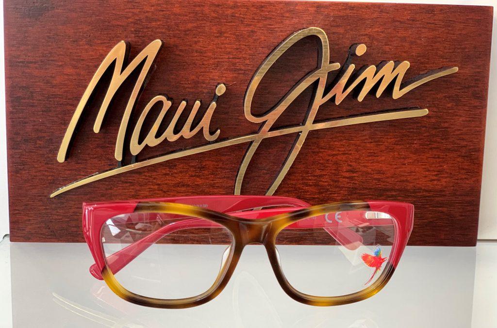 New Maui Jim Frames